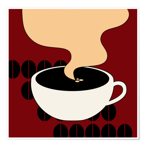 Poster Hot Coffee