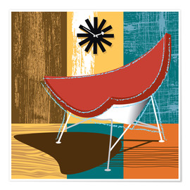 Poster coconut chair