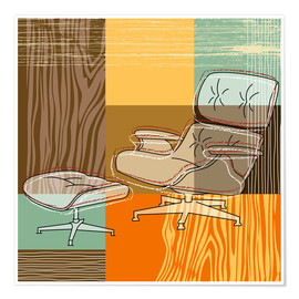 Poster Lounge Chair V