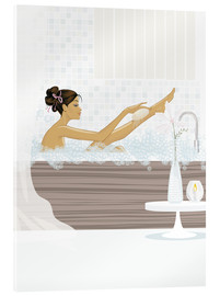 Verre acrylique  shower flower babe - Mike Wall