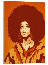 Bois  70s Orange Soul Mama - JASMIN!