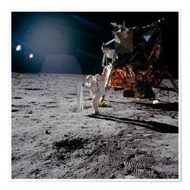 Poster  Apollo 11 Moon Walk - Stocktrek Images