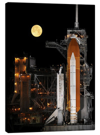 Tableau sur toile  Space Shuttle Discovery