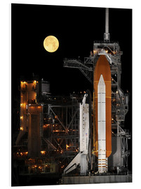 Tableau en PVC  Space Shuttle Discovery