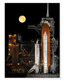 Poster  Space Shuttle Discovery - Stocktrek Images