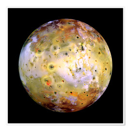 Poster Io, satellite naturel de Jupiter