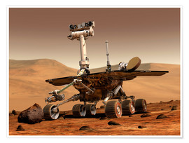 Poster  Mars Rover