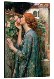 Alu-Dibond  Âme de la rose - John William Waterhouse