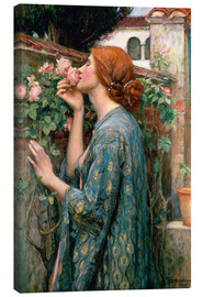 Toile  L'âme de la Rose - John William Waterhouse