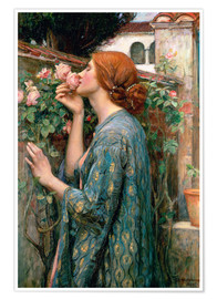 Poster  Âme de la rose - John William Waterhouse