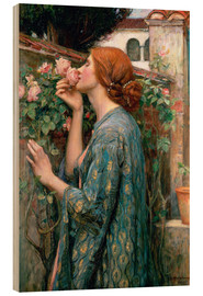 Tableau en bois  L'âme de la Rose - John William Waterhouse