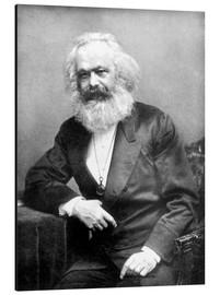 Alu-Dibond  Portrait de Karl Marx - English Photographer