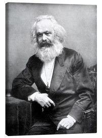 Toile  Portrait de Karl Marx - English Photographer