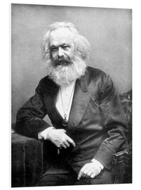 Forex  Portrait de Karl Marx - English Photographer