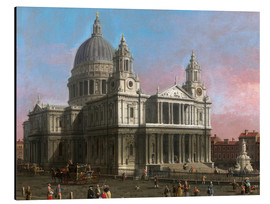Tableau en aluminium  Cathédrale Saint-Paul - Antonio Canaletto