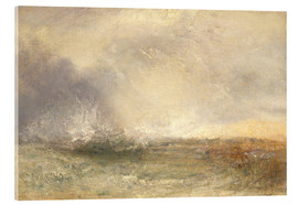 Tableau en verre acrylique  Mer orageuse - Joseph Mallord William Turner