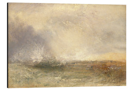 Tableau en aluminium  Mer orageuse - Joseph Mallord William Turner