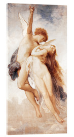 Verre acrylique  Cupid and Psyche - William Adolphe Bouguereau
