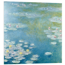 Tableau en PVC  Nymphéas à Giverny - Claude Monet