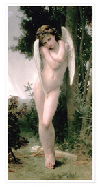 Poster  Cupid - William Adolphe Bouguereau