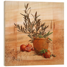 Bois  Pomegranate and olive harvest - Franz Heigl