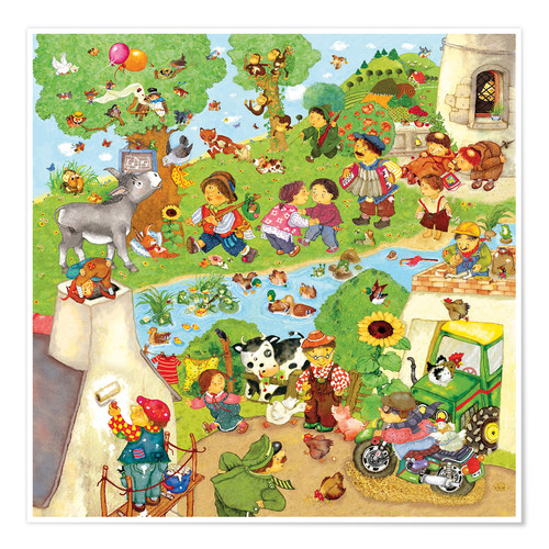 Poster nursery songs_ 2