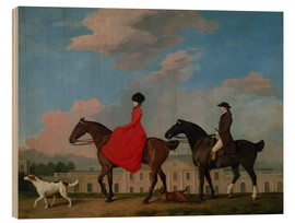 Bois  John and Sophia Musters riding at Colwick Hall - George Stubbs