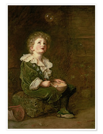 Poster  Bubbles - Sir John Everett Millais