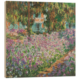 Bois  The Artist's Garden at Giverny - Claude Monet