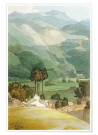Poster  Ambleside - Francis Towne