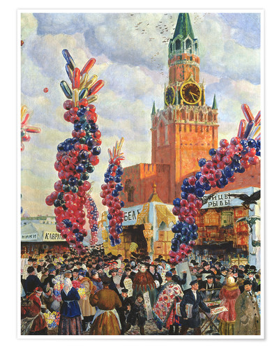 Poster Easter Market at the Moscow Kremlin