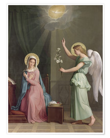 Poster  The Annunciation - Auguste Pichon