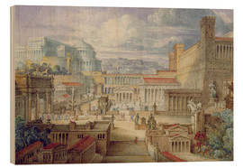 Bois  A Scene in Ancient Rome - Joseph Michael Gandy