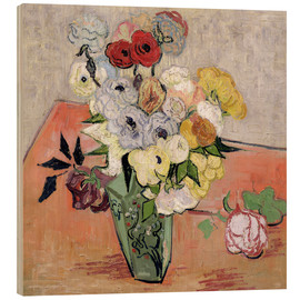 Bois  Roses and Anemones - Vincent van Gogh