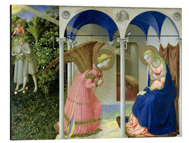 Alu-Dibond  The Annunciation - Fra Angelico