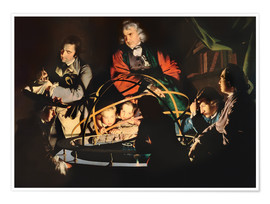 Poster  The Orrery - Joseph Wright of Derby
