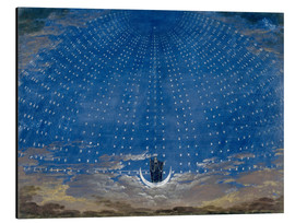 Alu-Dibond  The Palace of the Queen of the Night - Karl Friedrich Schinkel