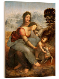 Bois  Virgin and Child with St. Anne - Leonardo da Vinci
