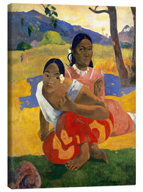 Toile  Quand te maries-tu ? - Paul Gauguin