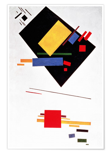 Poster Suprematist Composition