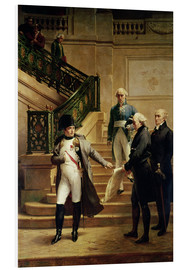 Tableau en PVC  Napoleon I - Merry Joseph Blondel