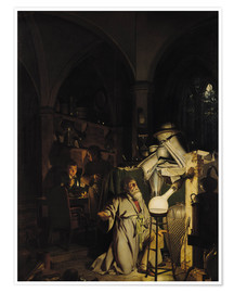 Poster  The Alchymist - Joseph Wright of Derby