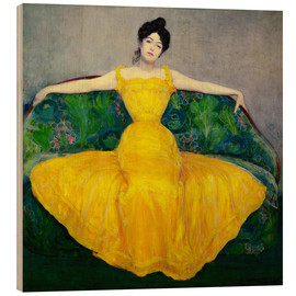 Bois  Lady in a Yellow Dress - Maximilian Kurzweil