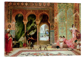 Tableau en verre acrylique  A Royal Palace in Morocco - Constant