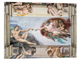 Forex  Sistine Chapel: The Creation of Adam - Michelangelo