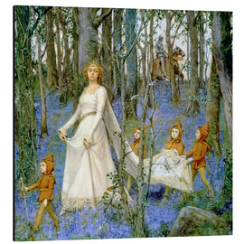Tableau en aluminium  The Fairy Wood - Henry Meynell Rheam