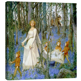 Tableau sur toile  The Fairy Wood - Henry Meynell Rheam