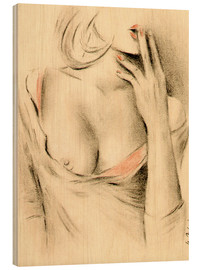 Bois  Aphrodite the modern - erotic woman picture - Marita Zacharias