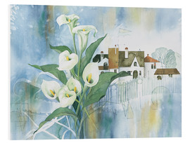 Tableau en PVC  Calla Bouquet - Franz Heigl