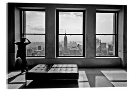 Tableau en verre acrylique  New York, Top of the Rock - Thomas Splietker